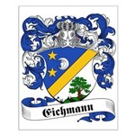 Eichmann Family Crest Small Poster