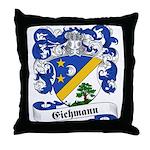 Eichmann Family Crest Throw Pillow