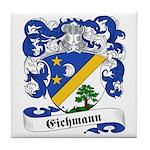 Eichmann Family Crest Tile Coaster