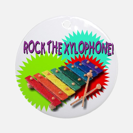xylophone Ornament (Round)