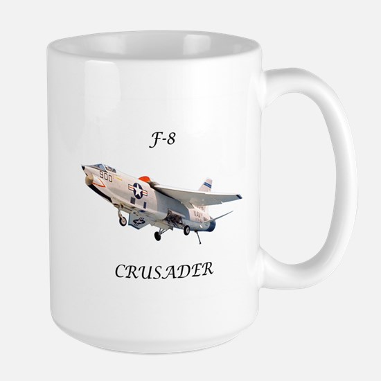 F-8 Crusader Large Mug