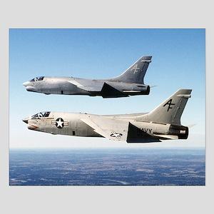 F-8 Crusader Small Poster