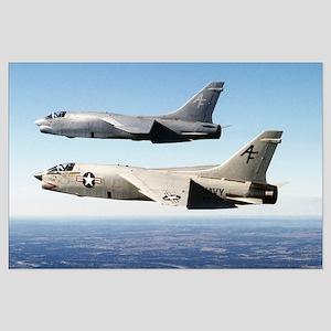 F-8 Crusader Large Poster