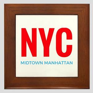 NYC Manhattan Framed Tile