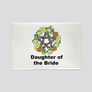 Pagan Pentagram Daughter of the Bride Rectangle Ma