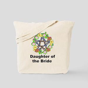 Pagan Pentagram Daughter of the Bride Tote Bag