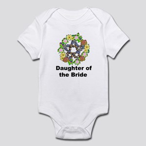 Pagan Pentagram Daughter of the Bride Infant Bodys
