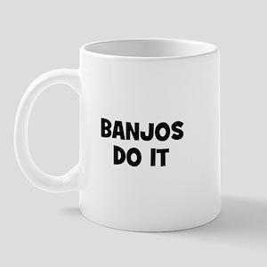 Banjos do it Mug