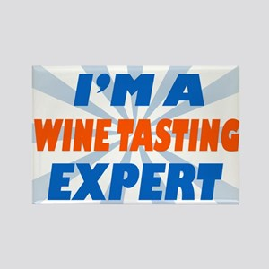 im a winetasting expert Rectangle Magnet