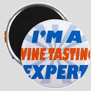 im a winetasting expert Magnet