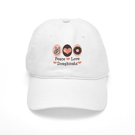 Peace Love Doughnuts Donut Cap