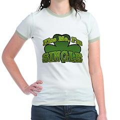 Kiss Me I'm Single Shamrock T