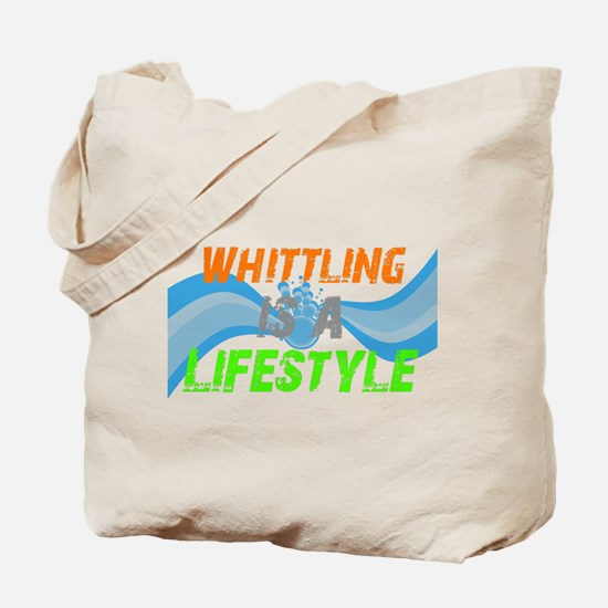 Whittling is a lifestyle Tote Bag