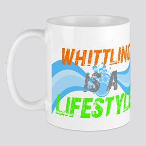Whittling is a lifestyle Mug