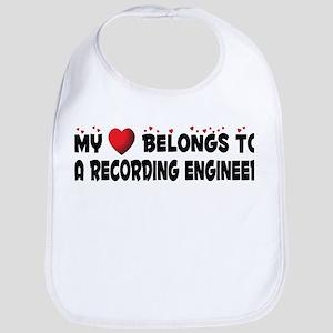 Belongs To A Recording Engineer Bib