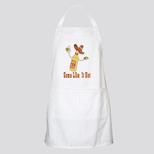 Some Dads Like It Hot BBQ Apron
