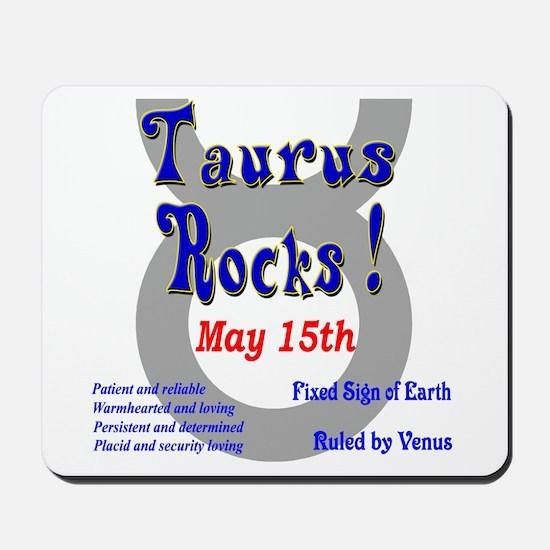 Taurus May 15th Mousepad