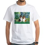 Bridge / Two Collies White T-Shirt