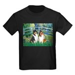 Bridge / Two Collies Kids Dark T-Shirt
