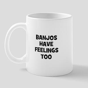 Banjos have feelings too Mug