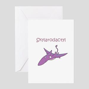 Skylarodactyl Greeting Card