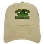 Irish I Was Drunk Shamrock Cap