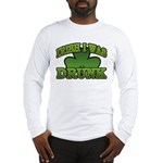 Irish I Was Drunk Shamrock Long Sleeve T-Shirt