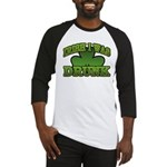 Irish I Was Drunk Shamrock Baseball Jersey