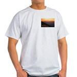 On the Trail  Ash Grey T-Shirt