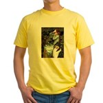 Ophelia / Collie (tri) Yellow T-Shirt