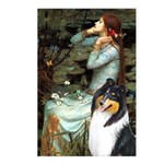 Ophelia / Collie (tri) Postcards (Package of 8)