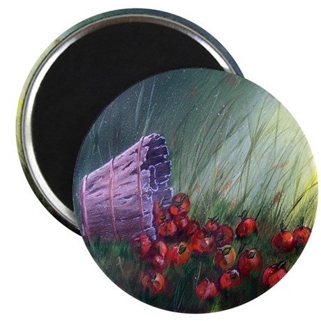 """""""Apples in the Grass"""" Magnet"""