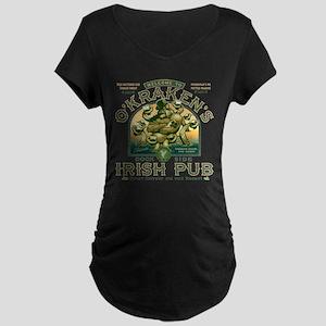 O'Kraken's Irish Pub Maternity T-Shirt