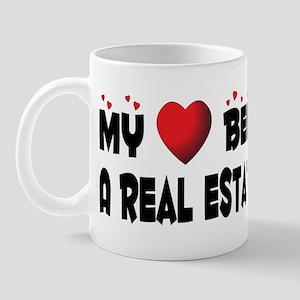 Belongs To A Real Estate Investor Mug