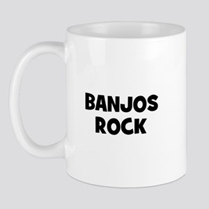 Banjos rock Mug