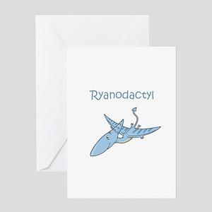 Ryanodactyl Greeting Card