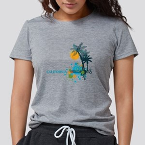 Palm Trees Sun and Circles T-Shirt