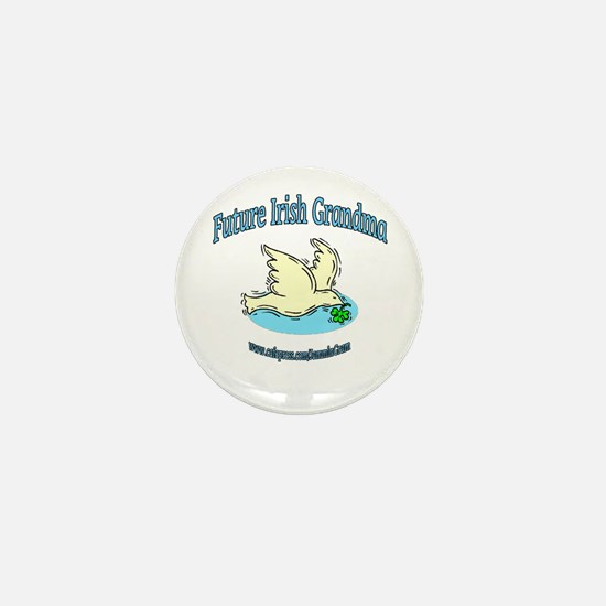 FUTURE IRISH GRANDMA-DOVE Mini Button