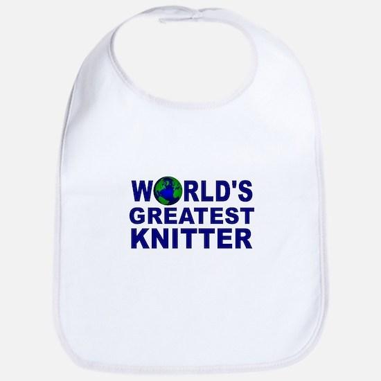 World's Greatest Knitter Bib