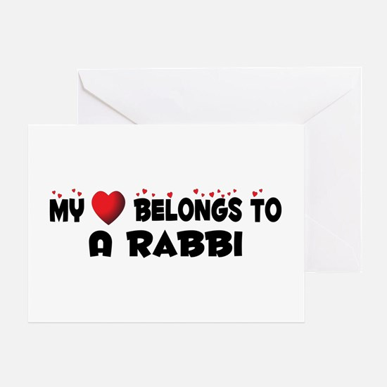 Belongs To A Rabbi Greeting Card