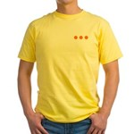 Dangerous Forces Yellow T-Shirt
