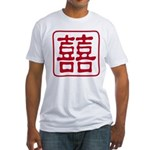 Double Happiness Fitted T-Shirt