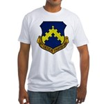 8TH TACTICAL FIGHTER WING Fitted T-Shirt