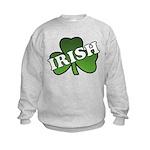 Green Shamrock Shamrock Kids Sweatshirt