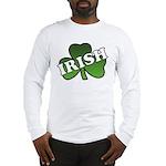 Green Shamrock Shamrock Long Sleeve T-Shirt