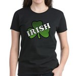 Green Shamrock Shamrock Women's Dark T-Shirt