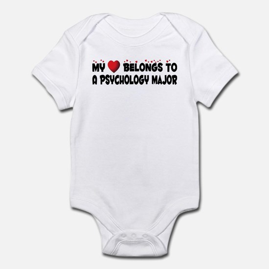 Belongs To A Psychology Major Infant Bodysuit