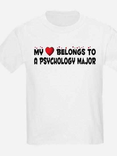 Belongs To A Psychology Major T-Shirt