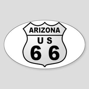 Arizona Route 66 Oval Sticker