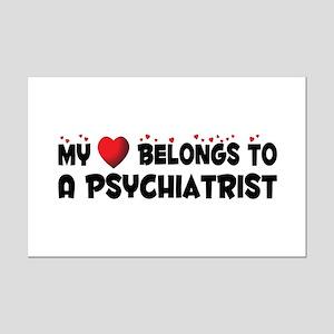 Belongs To A Psychiatrist Mini Poster Print